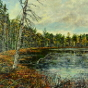 Artwork: Algonquin Bat Lake - SOLD