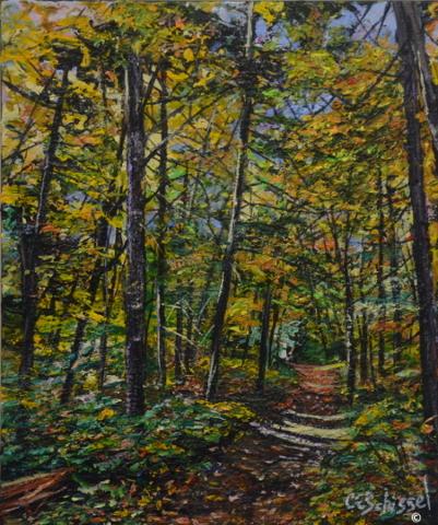 Artwork: Algonquin Path - SOLD