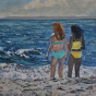 Artwork: Beach Friends - SOLD