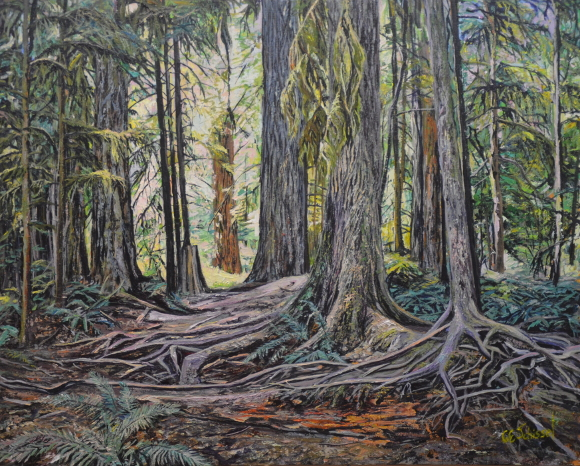 Artwork: Cathedral Grove - SOLD