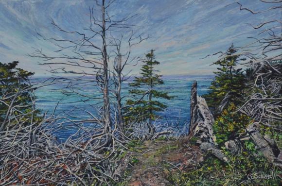 Artwork: Cliffside - SOLD