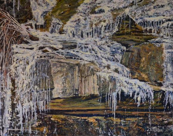 Artwork: Escarpment Ice - SOLD