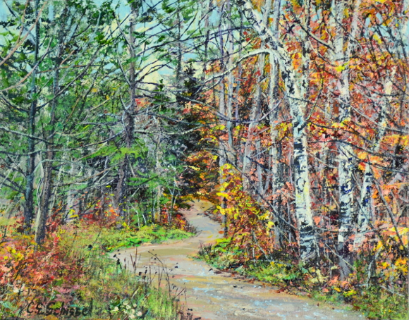 Artwork: Forest Trail - SOLD