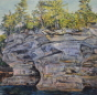 Artwork: Gichigami Sandstone Pillars - SOLD