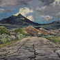 Artwork: La Sal Mountain Road