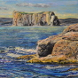 Artwork: Percé Rock - SOLD