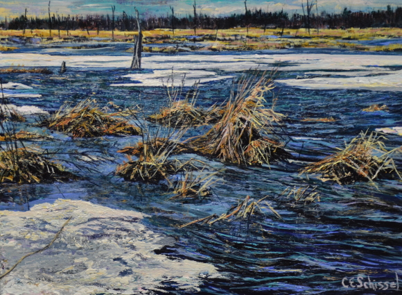 Artwork: Poole Creek Thaw - SOLD