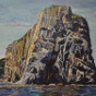 Artwork: Rock Face - SOLD