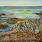 Artwork: Rocky Shore - SOLD