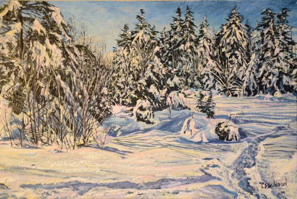 Artwork: Snow Covered Path
