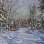 Artwork: Snowy Trail - SOLD