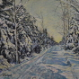Artwork: Winter Trail - SOLD