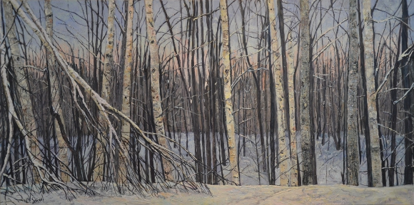 Artwork: Winter Woodlands - SOLD