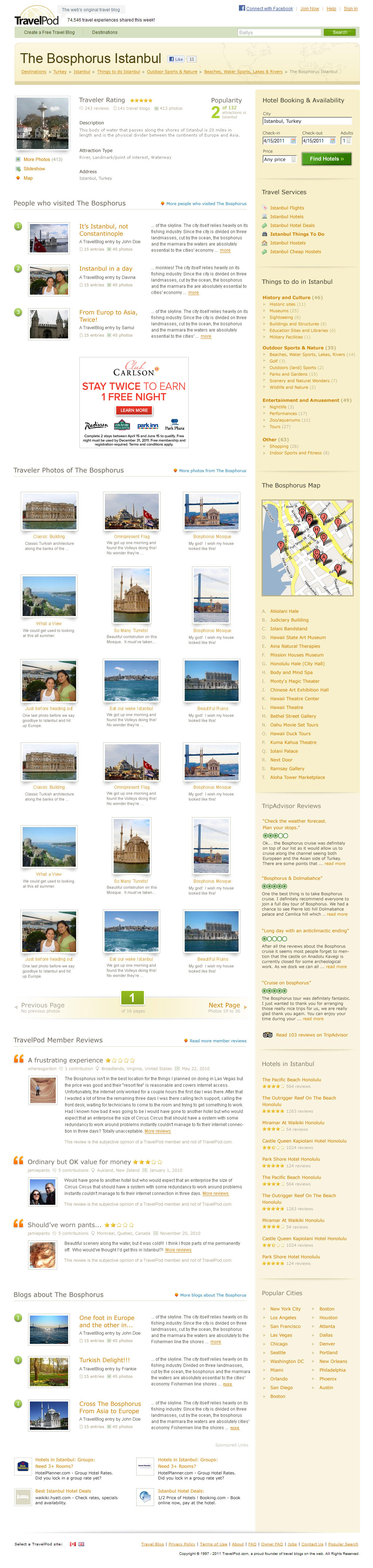 TravelPod Attractions